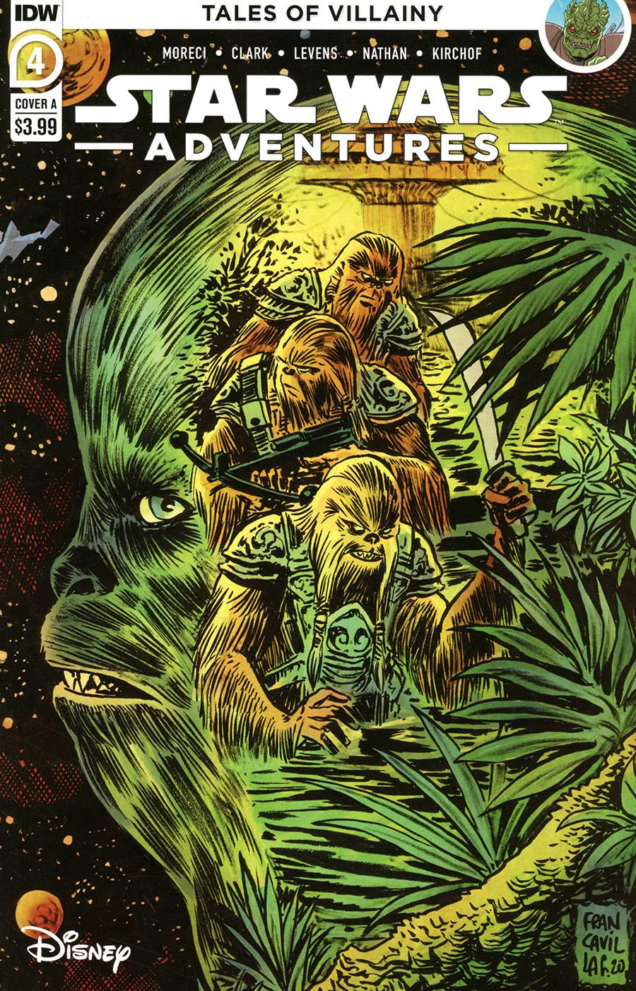 Star Wars Adventures Vol 2 #4 Cover A Regular Francesco Francavilla Cover