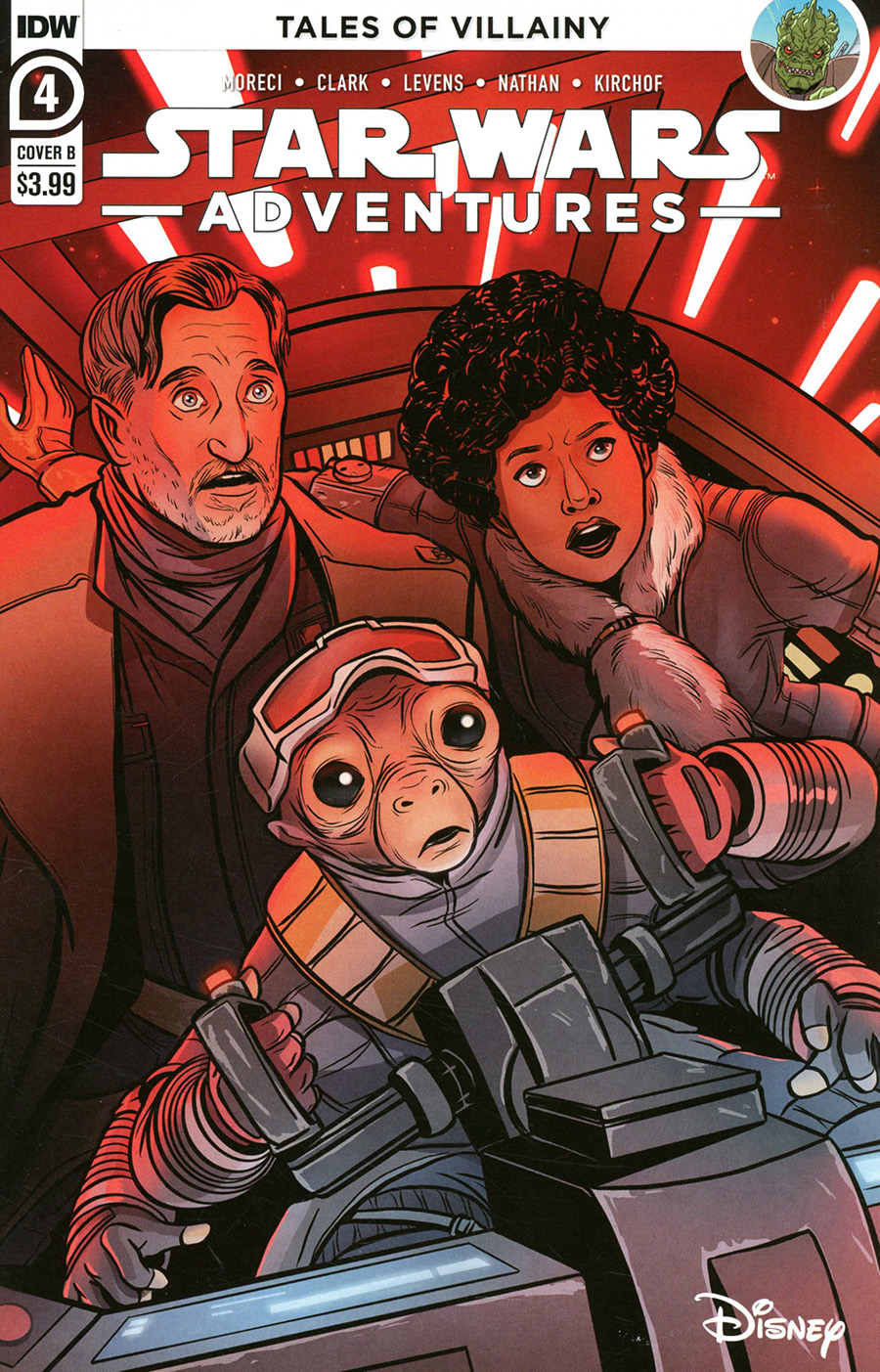 Star Wars Adventures Vol 2 #4 Cover B Variant Yael Nathan Cover