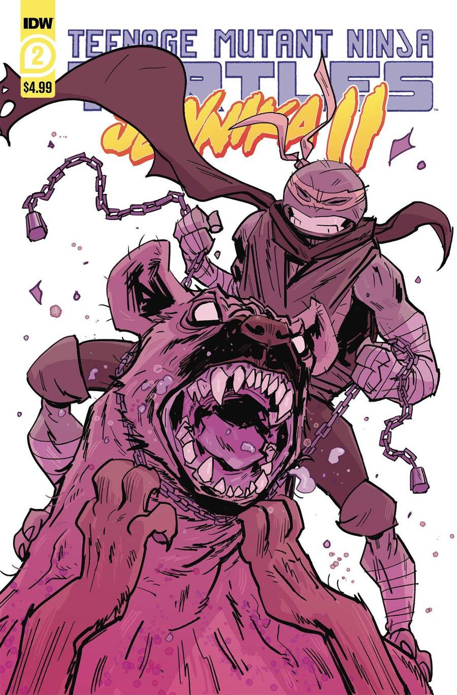 Teenage Mutant Ninja Turtles Jennika II #2 Cover A Regular Brahm Revel Cover
