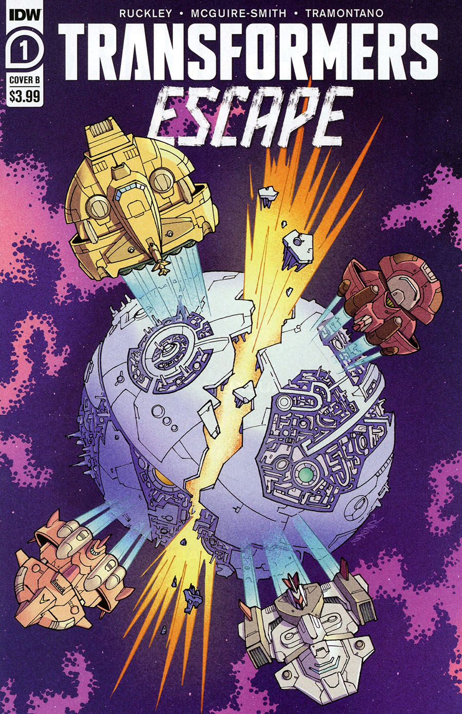 Transformers Escape #1 Cover B Variant Winston Chan Cover