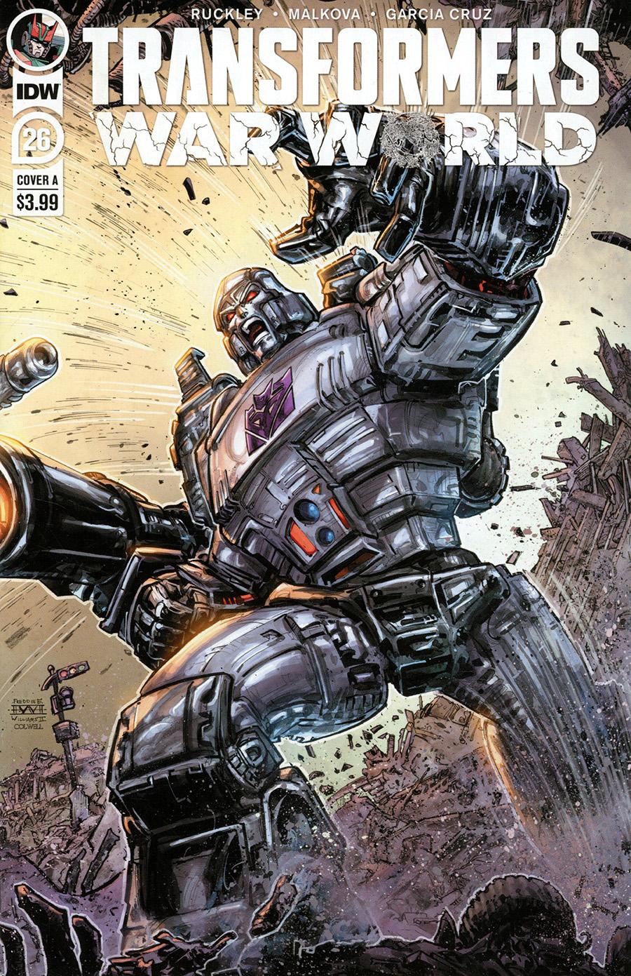 Transformers Vol 4 #26 Cover A Regular Freddie E Williams II Cover