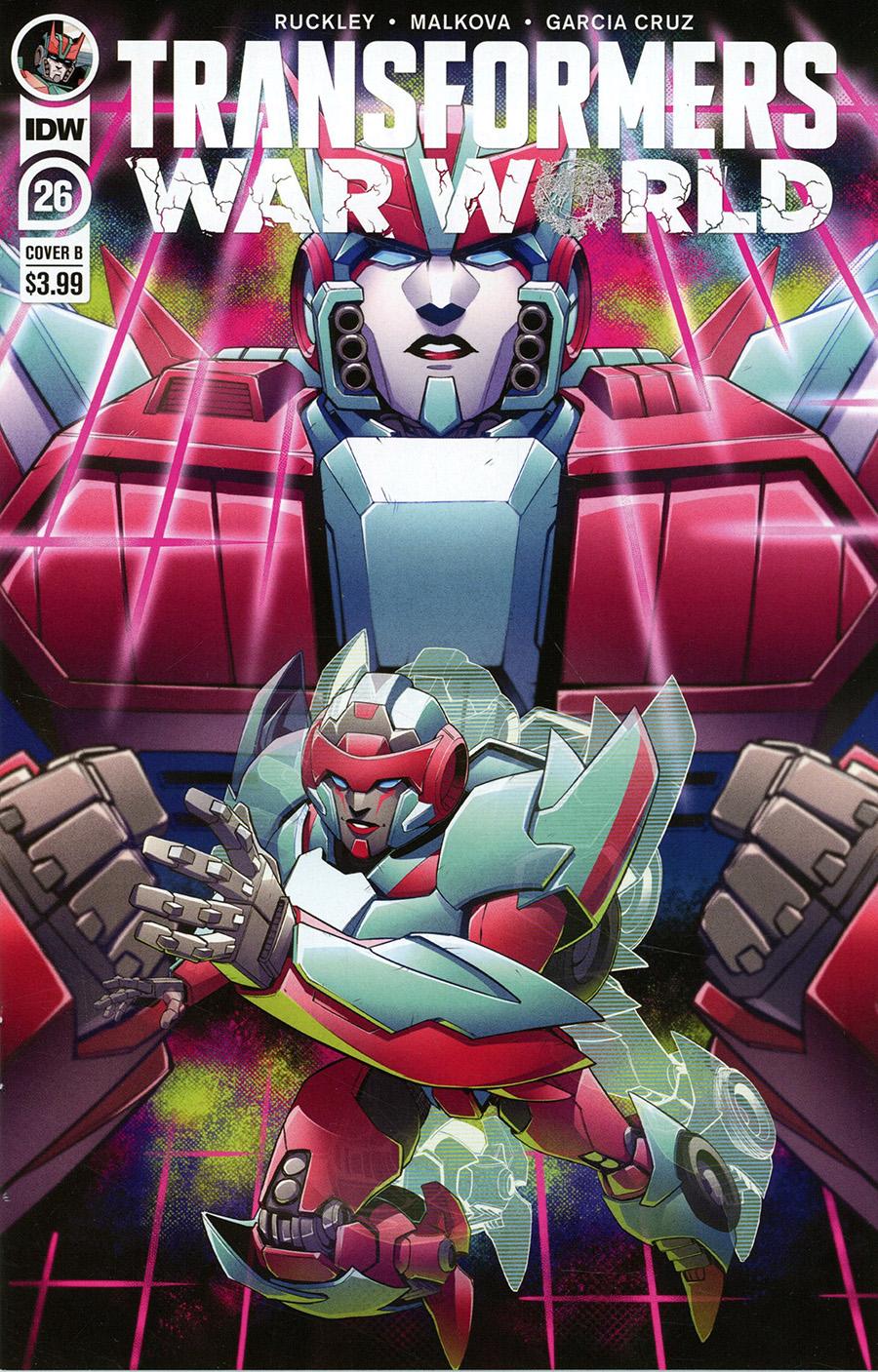 Transformers Vol 4 #26 Cover B Variant Billie Montfort Cover