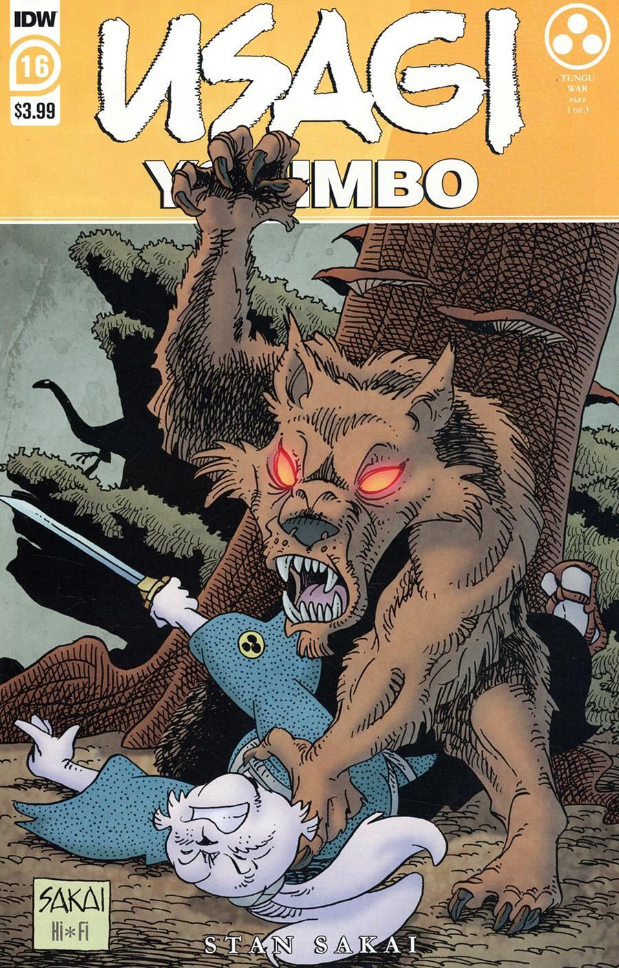 Usagi Yojimbo Vol 4 #16 Cover A Regular Stan Sakai Cover