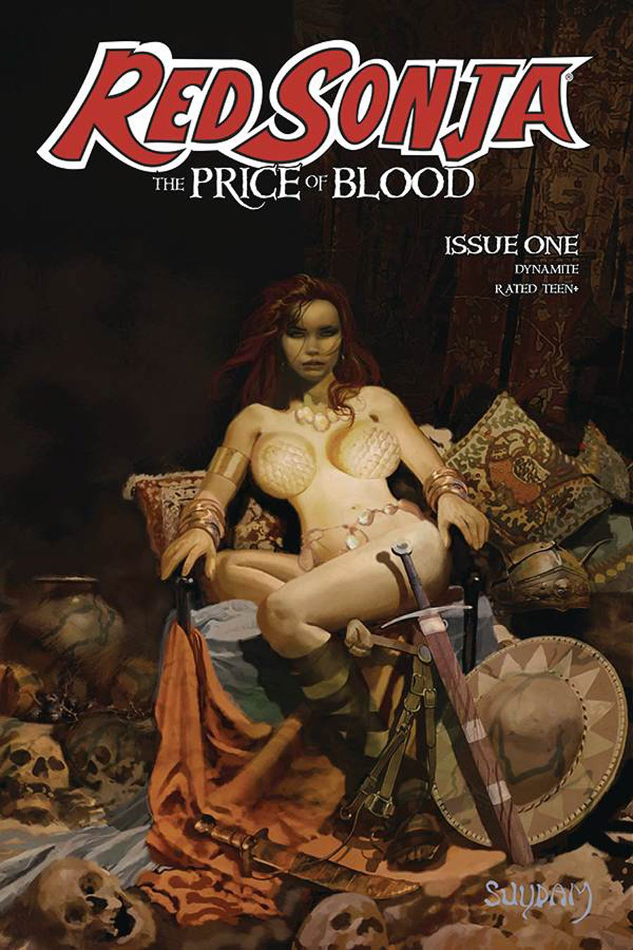 Red Sonja Price Of Blood #1 Cover A Regular Arthur Suydam Cover