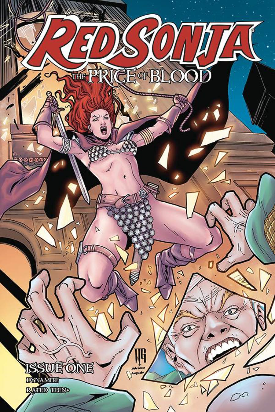 Red Sonja Price Of Blood #1 Cover D Variant Walter Geovani Cover