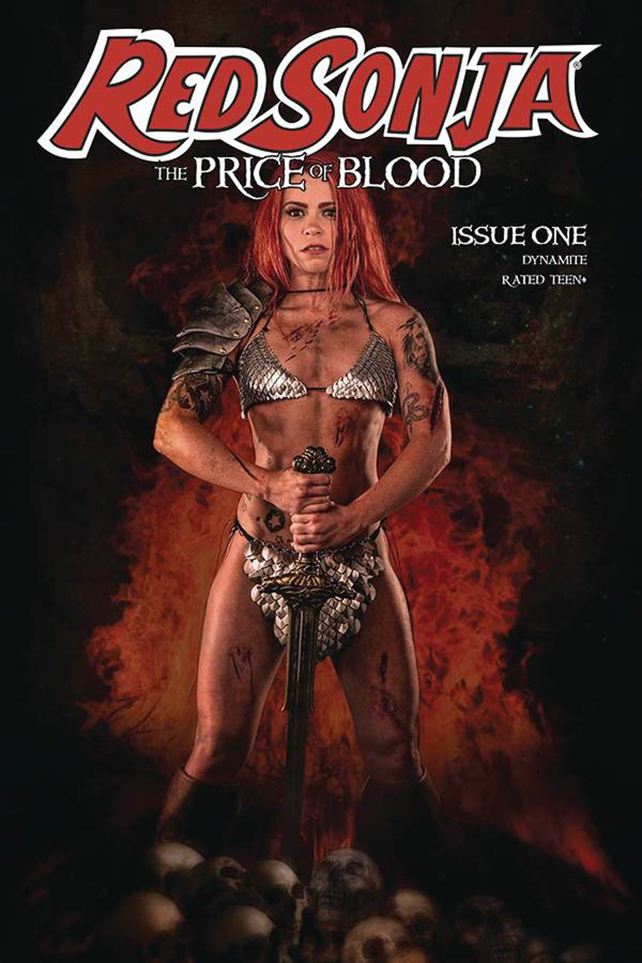 Red Sonja Price Of Blood #1 Cover E Variant Angel Ray Cosplay Photo Cover