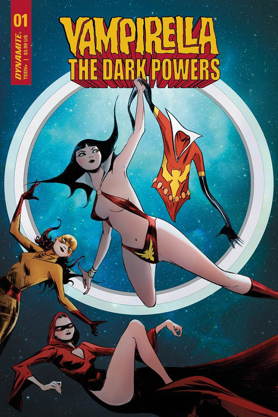 Vampirella The Dark Powers #1 Cover A Regular Jae Lee Cover