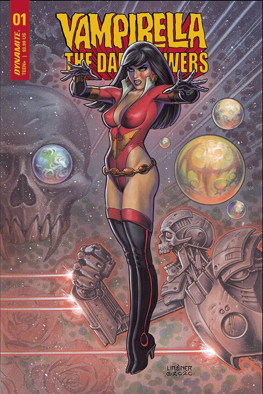 Vampirella The Dark Powers #1 Cover C Variant Joseph Michael Linsner Cover