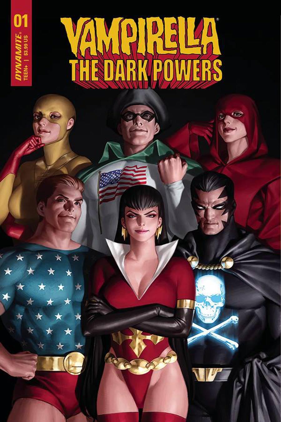Vampirella The Dark Powers #1 Cover D Variant Junggeun Yoon Cover