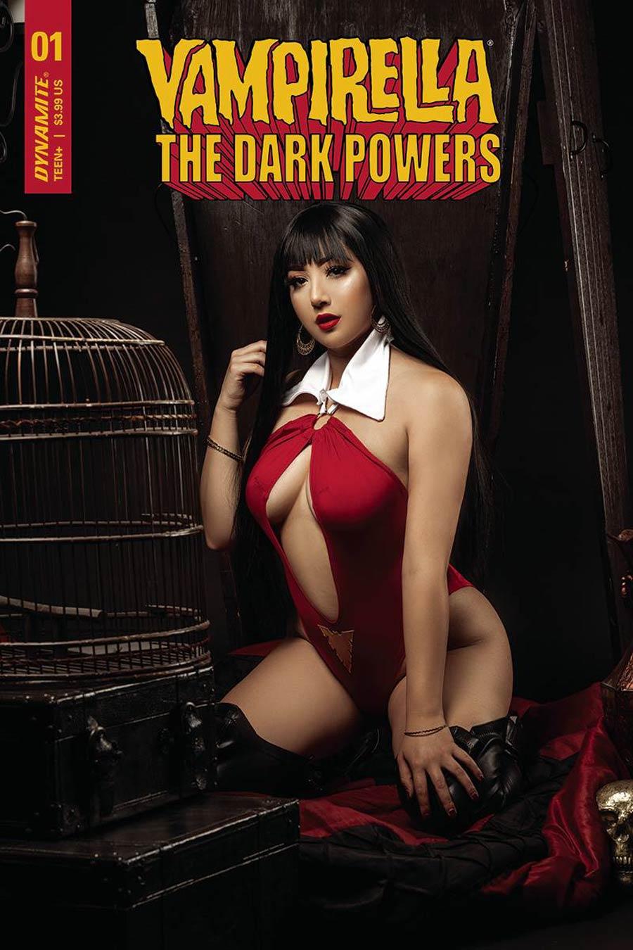 Vampirella The Dark Powers #1 Cover E Variant Marissa Ramirez Cosplay Photo Cover