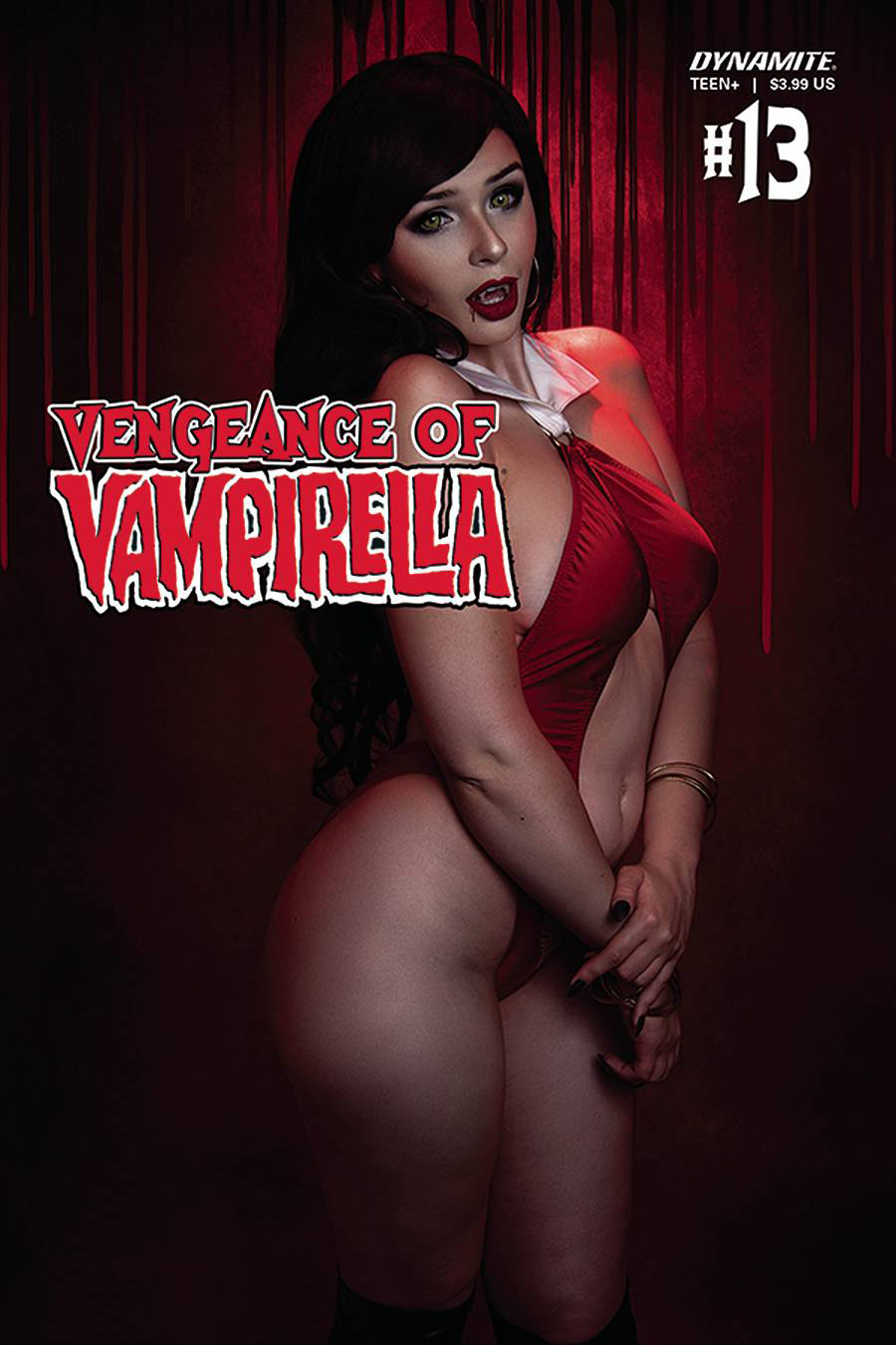 Vengeance Of Vampirella Vol 2 #13 Cover D Variant Hailey Scott Cosplay Photo Cover