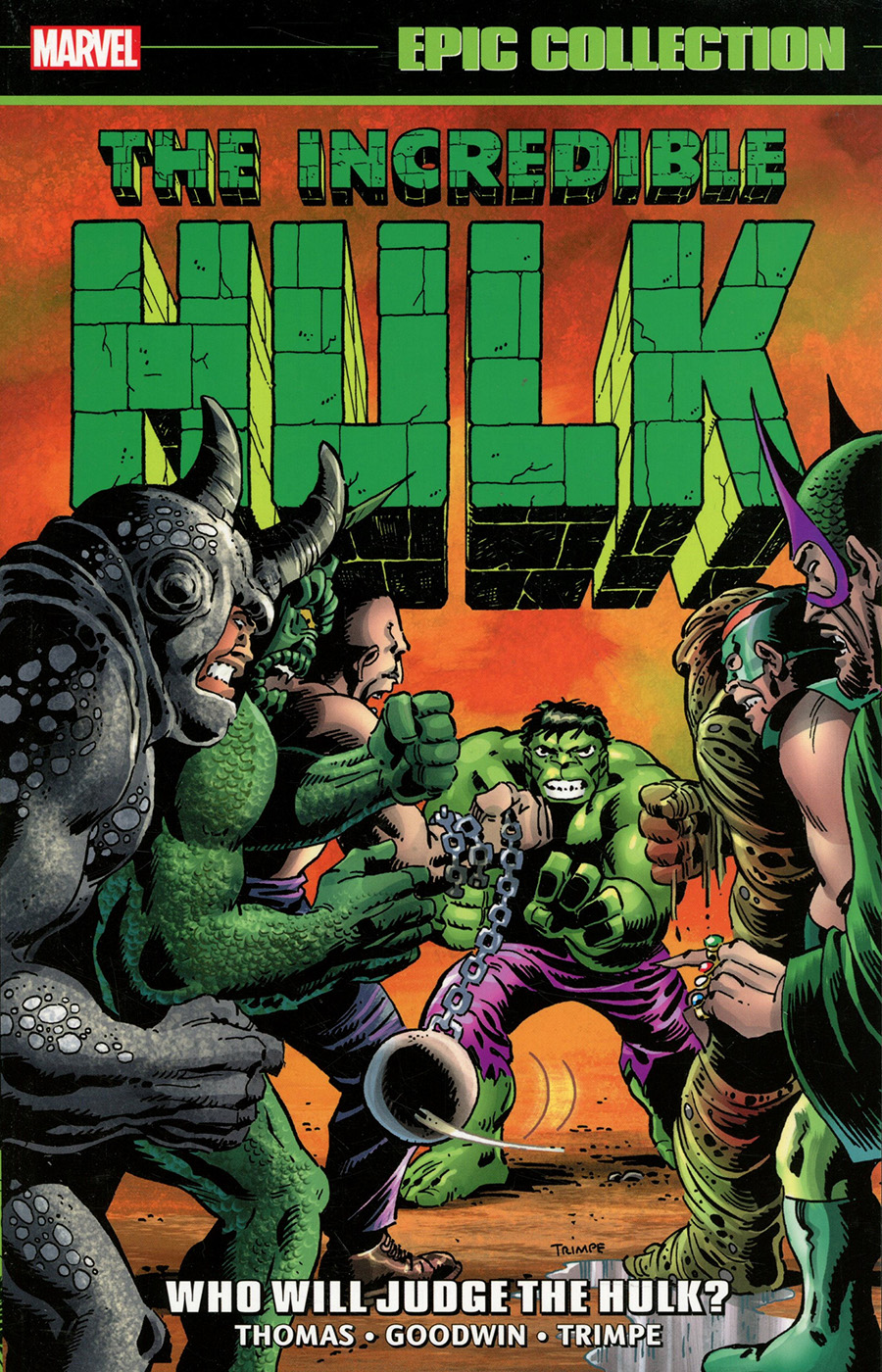 Incredible Hulk Epic Collection Vol 5 Who Will Judge The Hulk TP