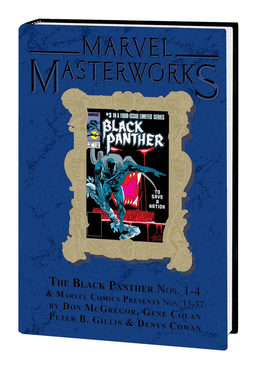 Marvel Masterworks Black Panther Vol 3 HC Variant Dust Jacket