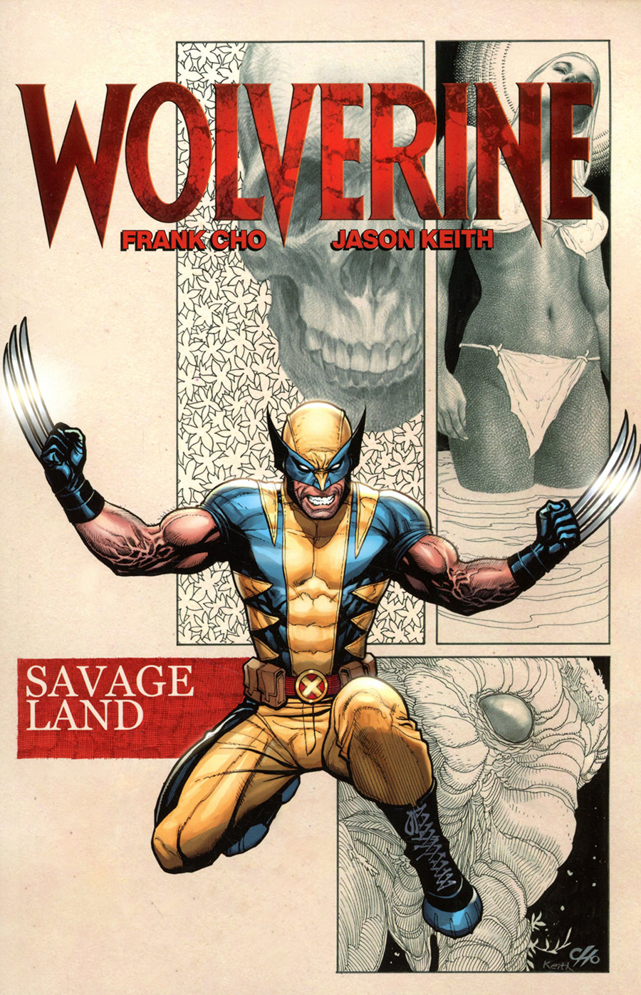 Wolverine By Frank Cho Savage Land TP