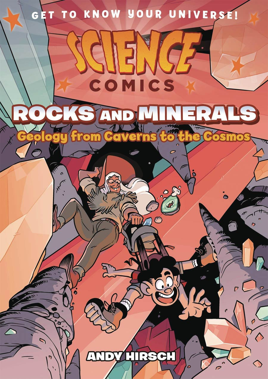 Science Comics Rocks And Minerals Geology From Caverns To The Cosmos TP
