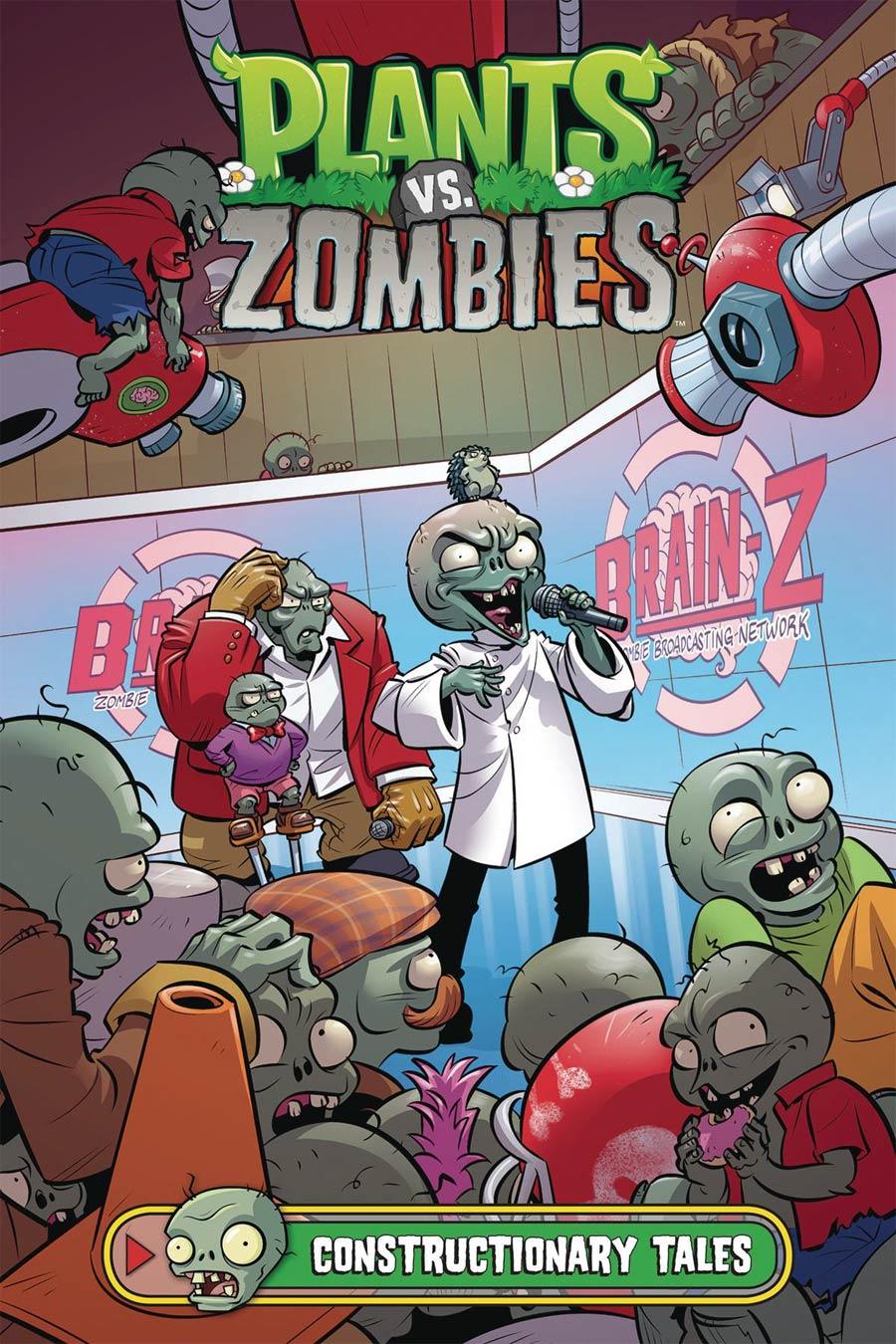 Plants vs Zombies Constructionary Tales HC