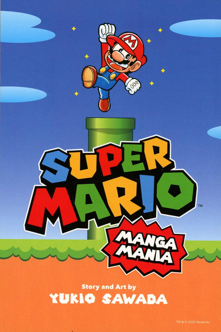 Super Mario Manga Mania GN