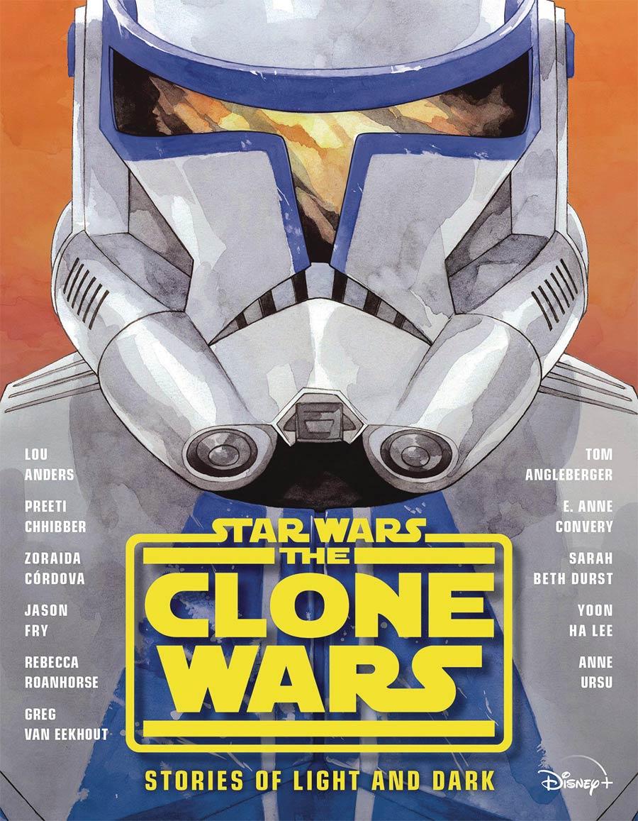 Star Wars Clone Wars Stories Of Light & Dark Novel HC