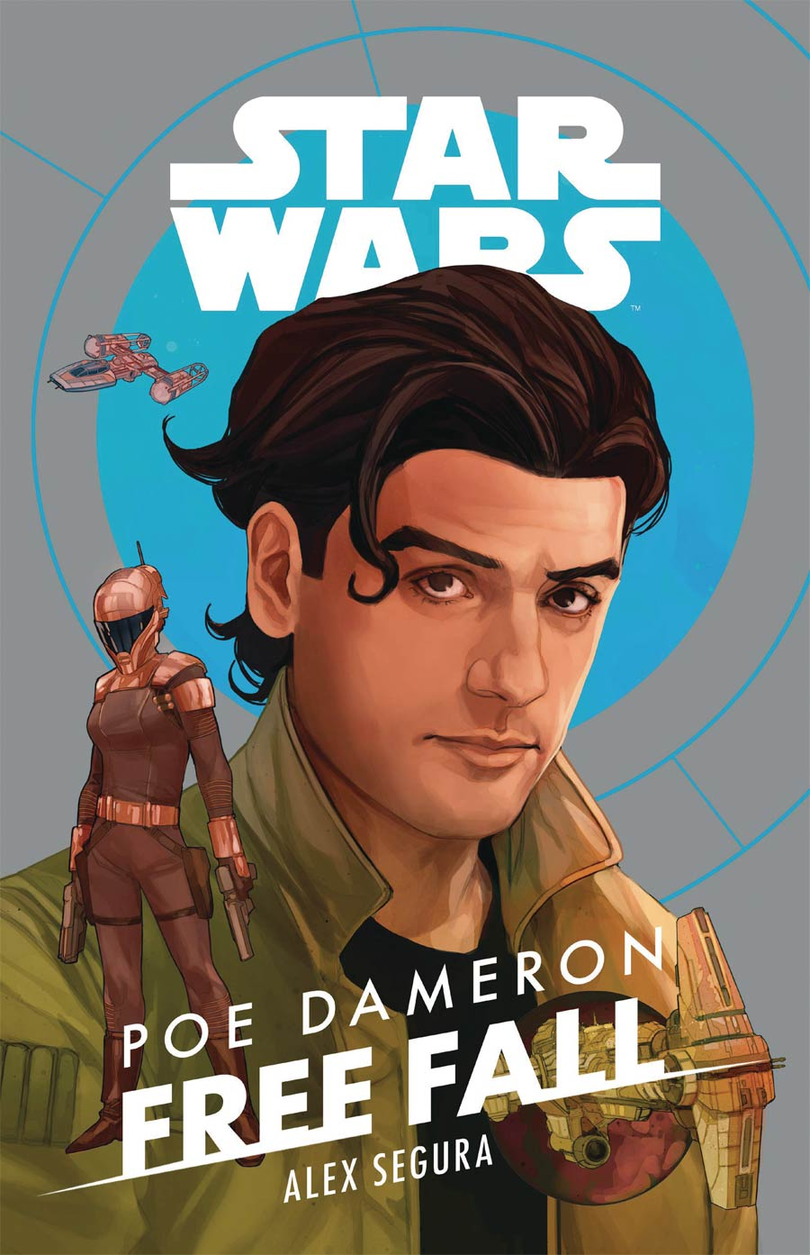 Star Wars Poe Dameron Free Fall Novel HC