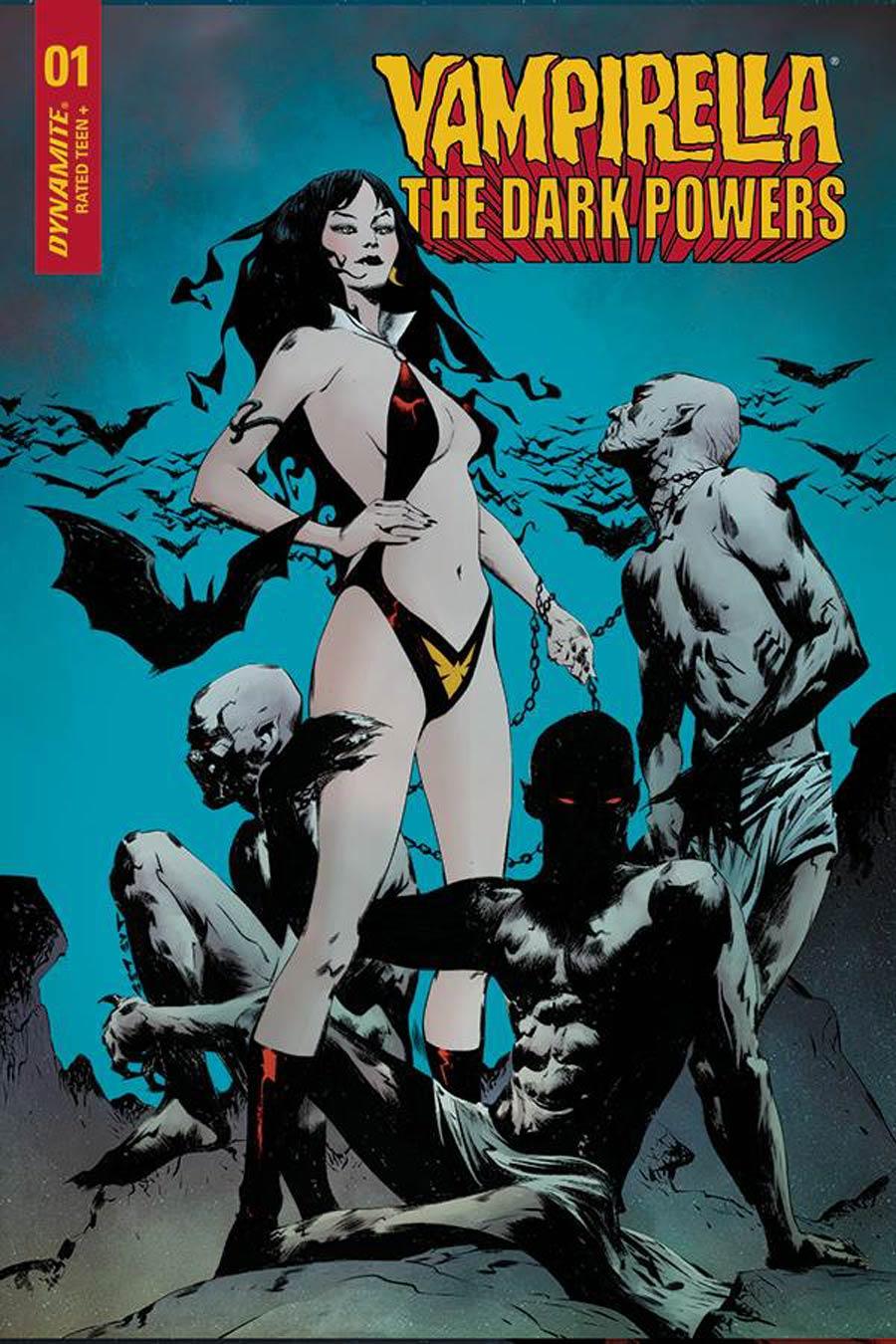 Vampirella The Dark Powers #1 Cover H Incentive Jae Lee Vampirellas Demons Variant Cover