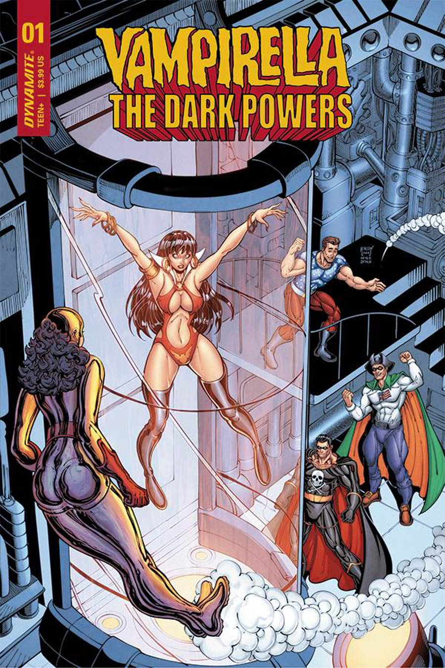 Vampirella The Dark Powers #1 Cover J Incentive Will Robson Spider-Man Homage Variant Cover