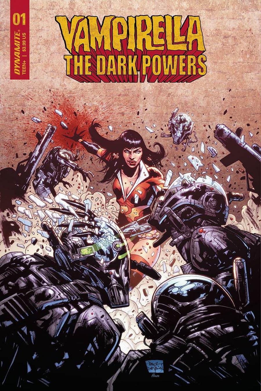 Vampirella The Dark Powers #1 Cover L Incentive Paul Davidson Variant Cover