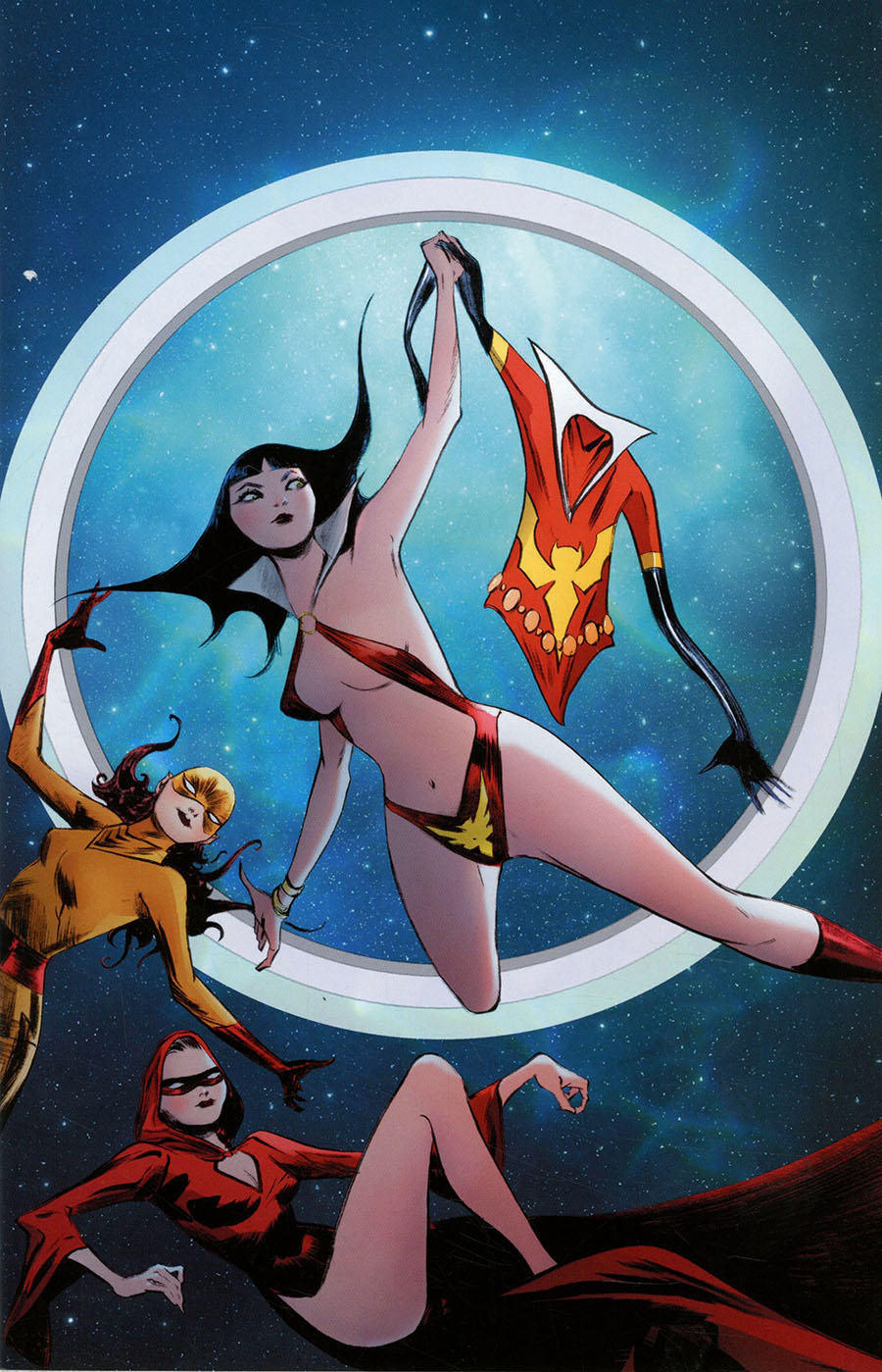 Vampirella The Dark Powers #1 Cover Z-A Limited Edition Jae Lee Virgin Cover