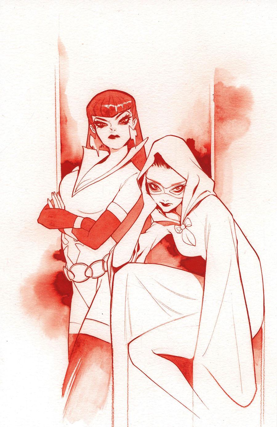 Vampirella The Dark Powers #1 Cover Z-G Ultra-Premium Limited Edition Peach Momoko Crimson Red Line Art Virgin Cover