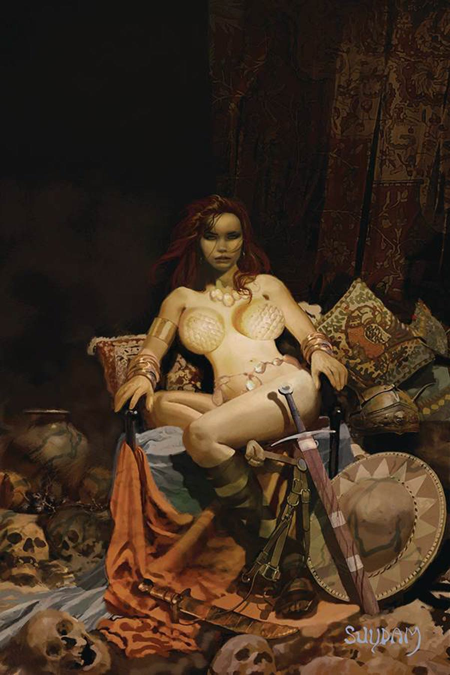 Red Sonja Price Of Blood #1 Cover O Limited Edition Arthur Suydam Virgin Cover
