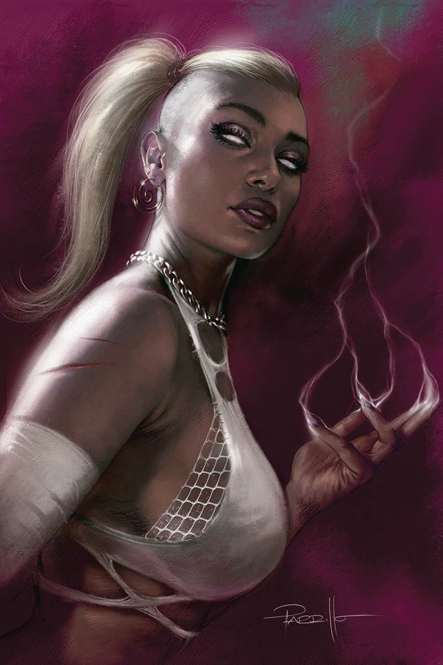 Sacred Six #6 Cover S Limited Edition Lucio Parrillo Virgin Cover