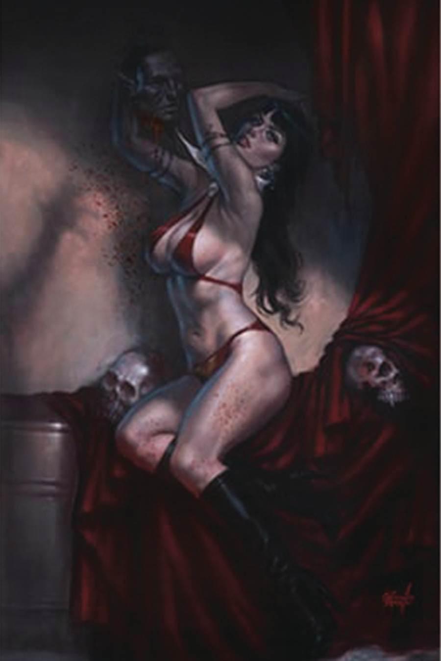 Vampirella Vol 8 #10 Cover Y Premium Limited Edition Lucio Parrillo Virgin Variant Cover