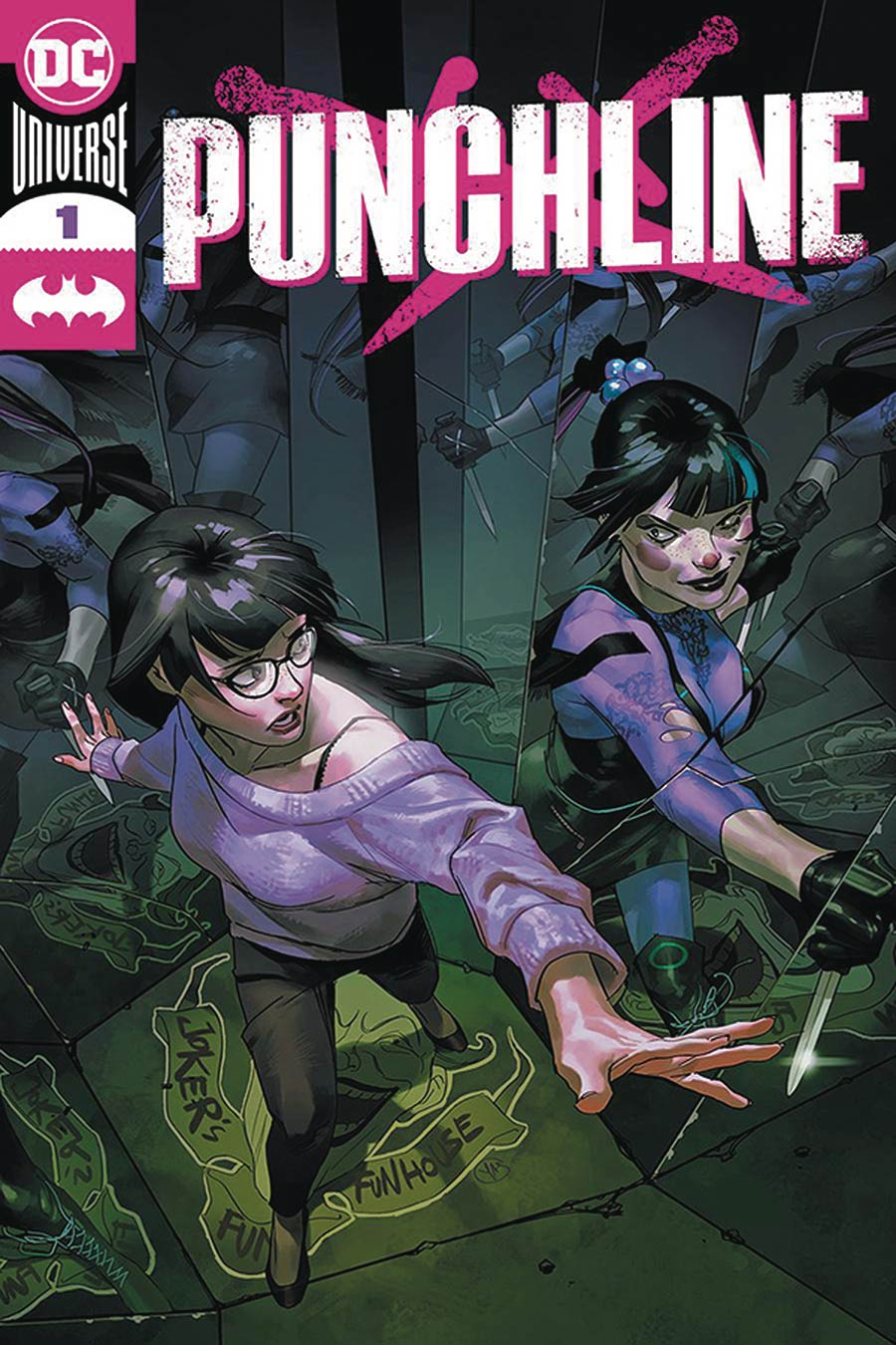 Punchline Special One Shot Cover E DF Yasmine Putri Cover Signed By James Tynion IV