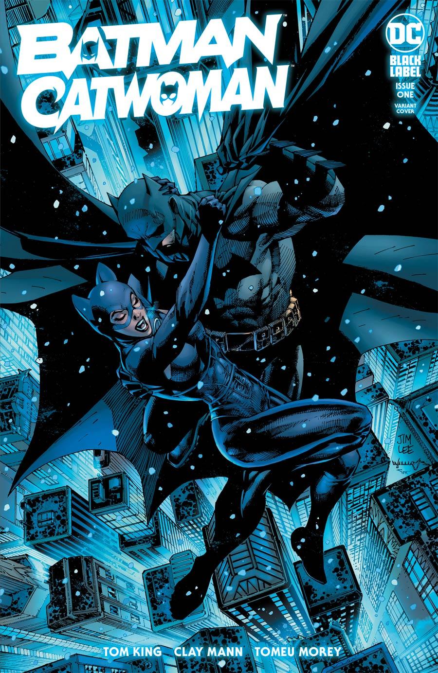 Batman Catwoman #1 Cover B Variant Jim Lee & Scott Williams Cover