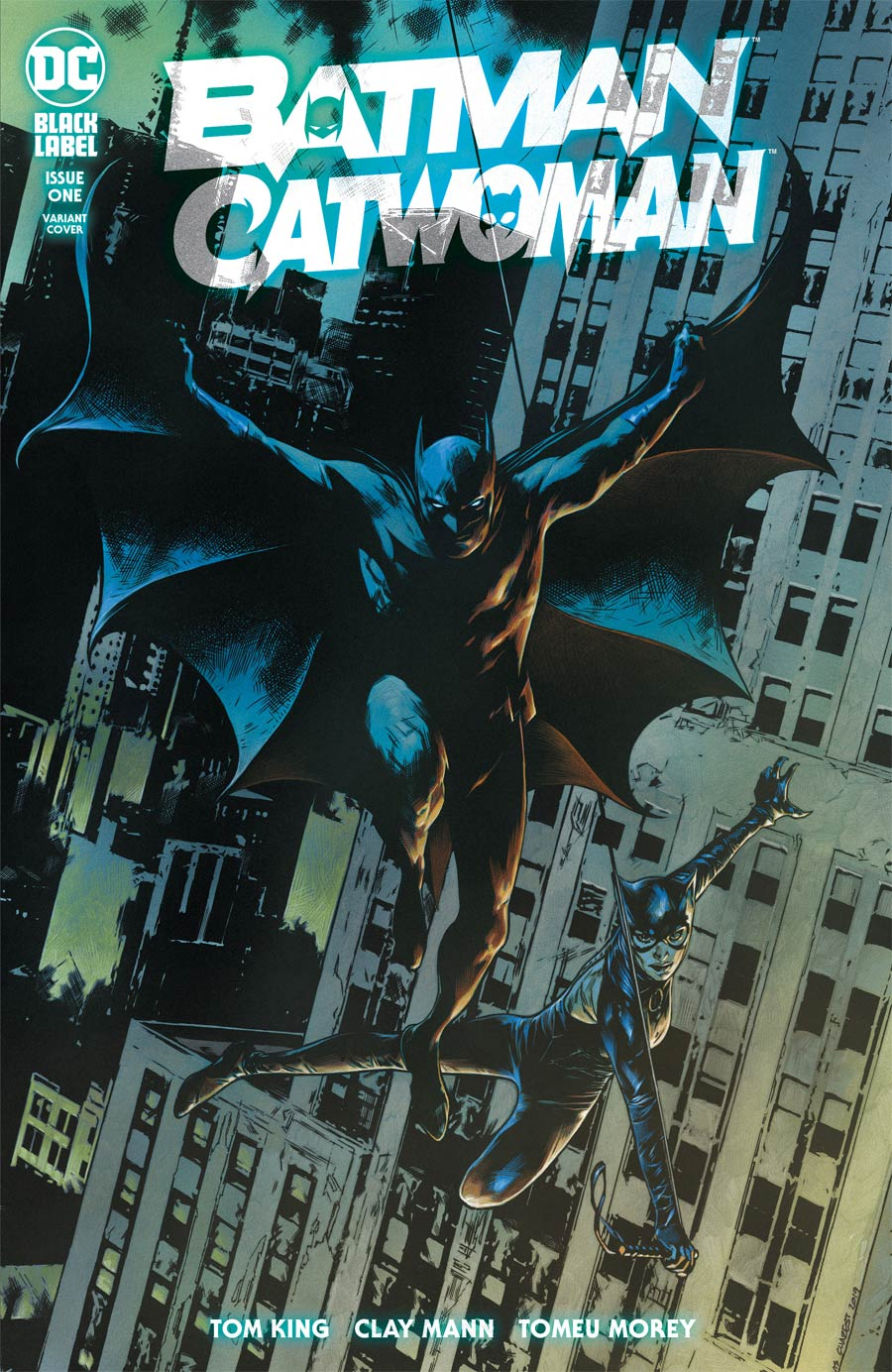 Batman Catwoman #1 Cover C Variant Travis Charest Cover