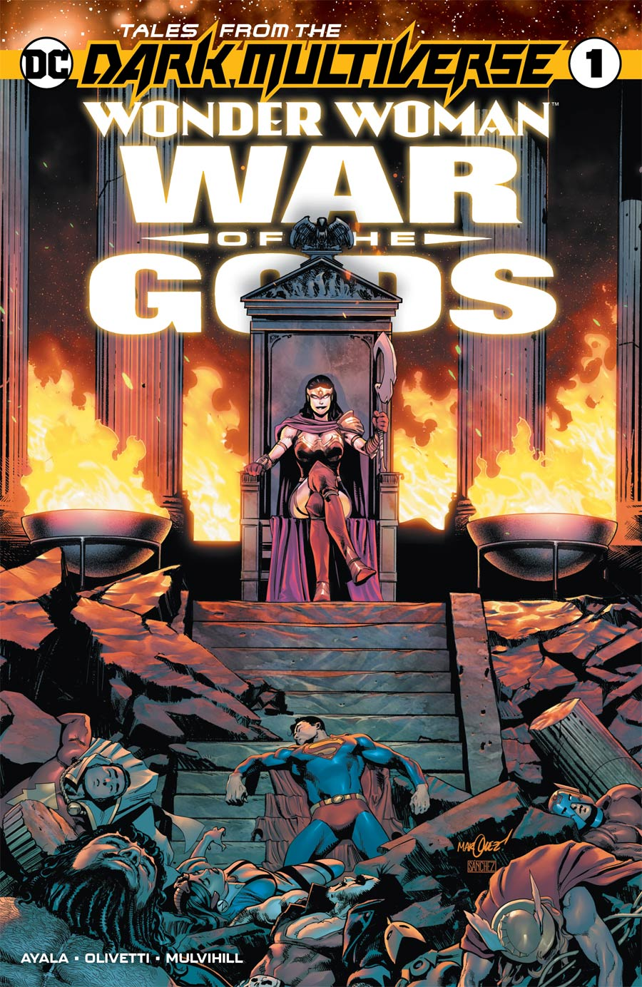 Tales From The Dark Multiverse Wonder Woman War Of The Gods One Shot