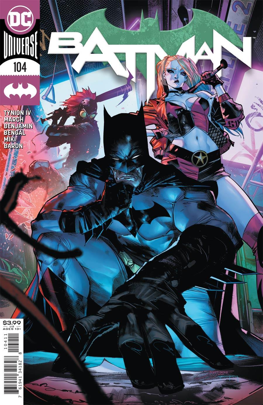 Batman Vol 3 #104 Cover A Regular Jorge Jimenez Cover