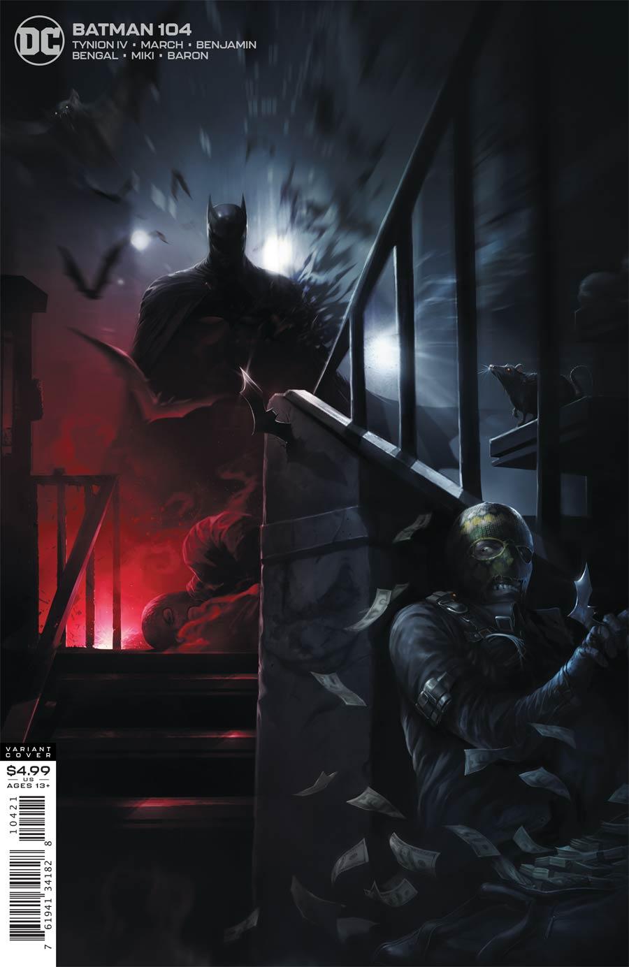Batman Vol 3 #104 Cover B Variant Francesco Mattina Card Stock Cover