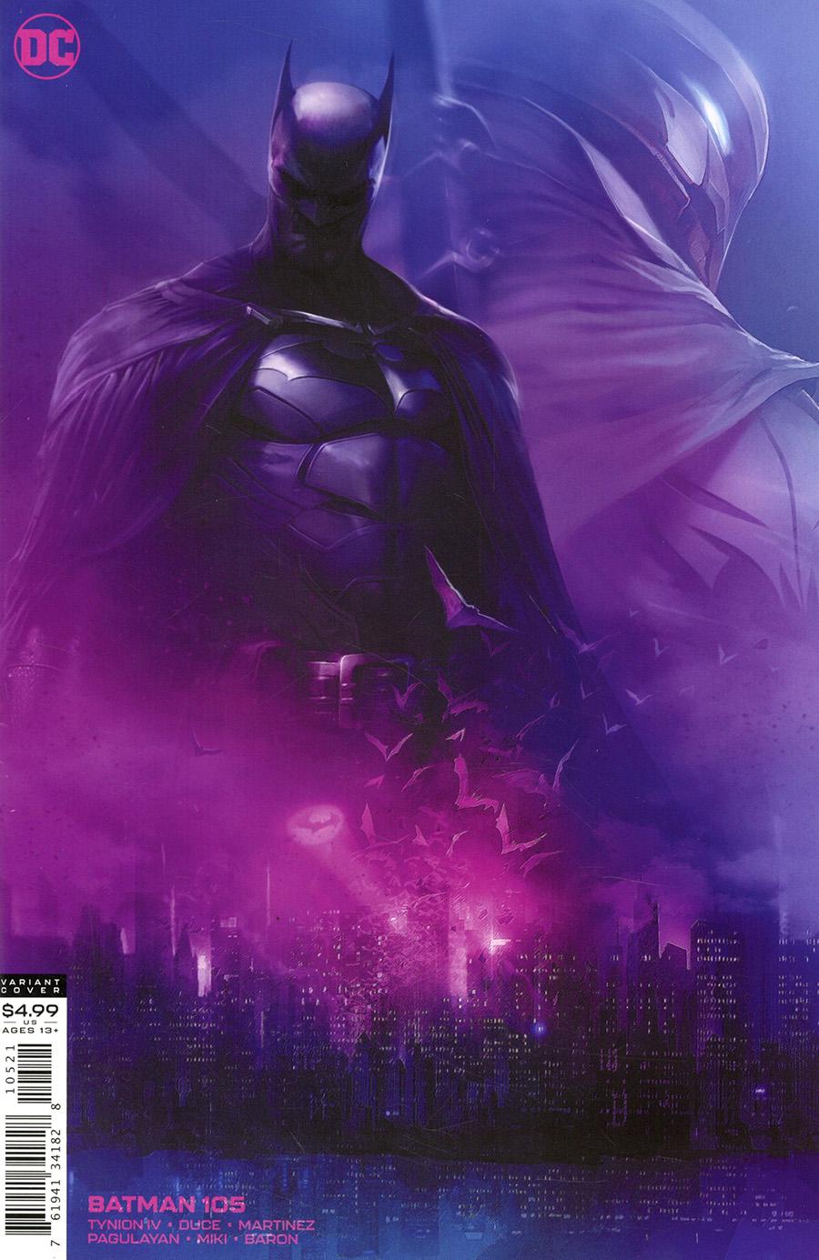 Batman Vol 3 #105 Cover B Variant Francesco Mattina Card Stock Cover
