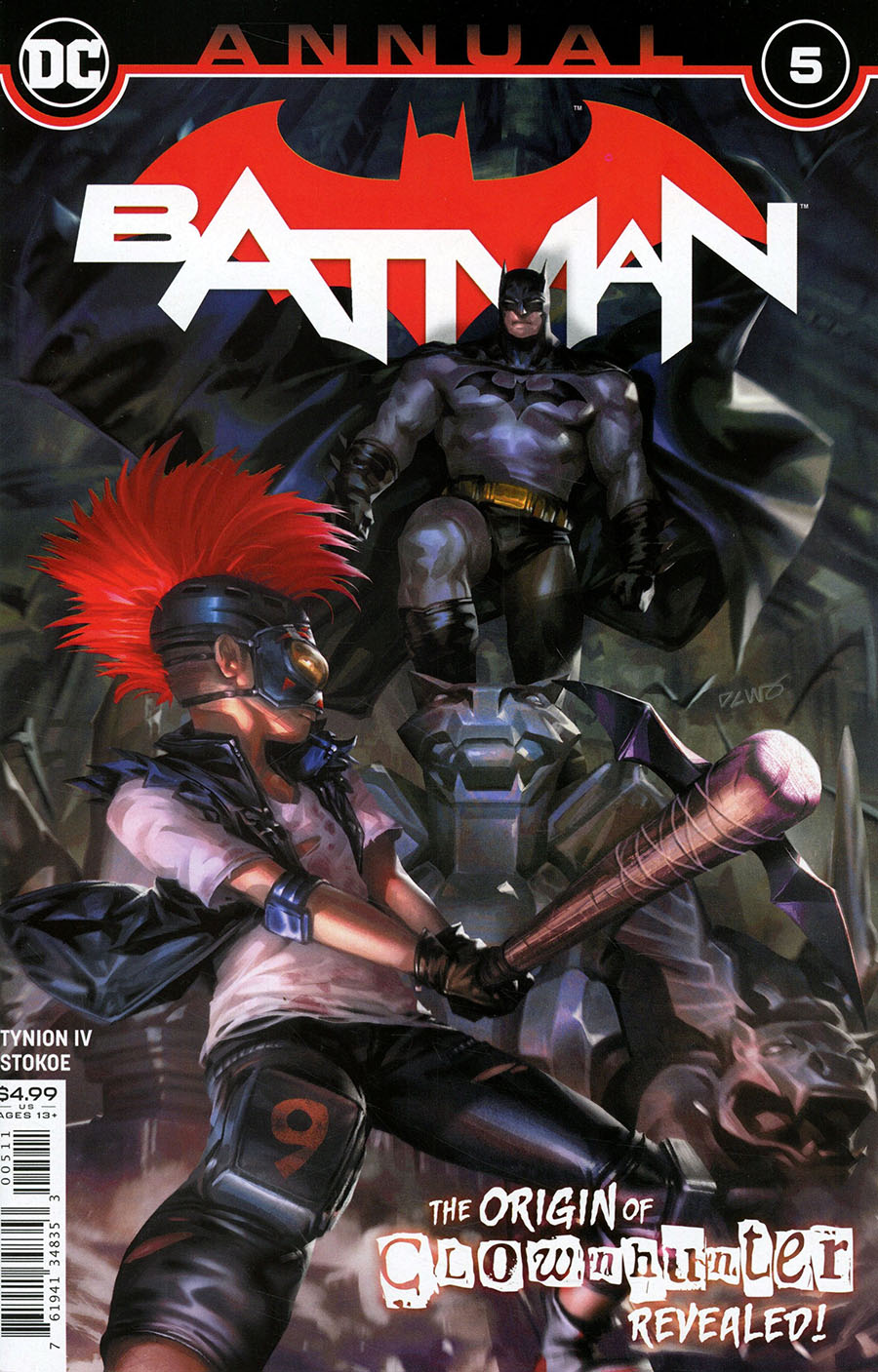 Batman Vol 3 Annual #5 Cover A Regular Derrick Chew Cover