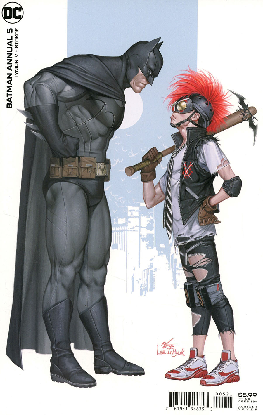 Batman Vol 3 Annual #5 Cover B Variant Inhyuk Lee Card Stock Cover