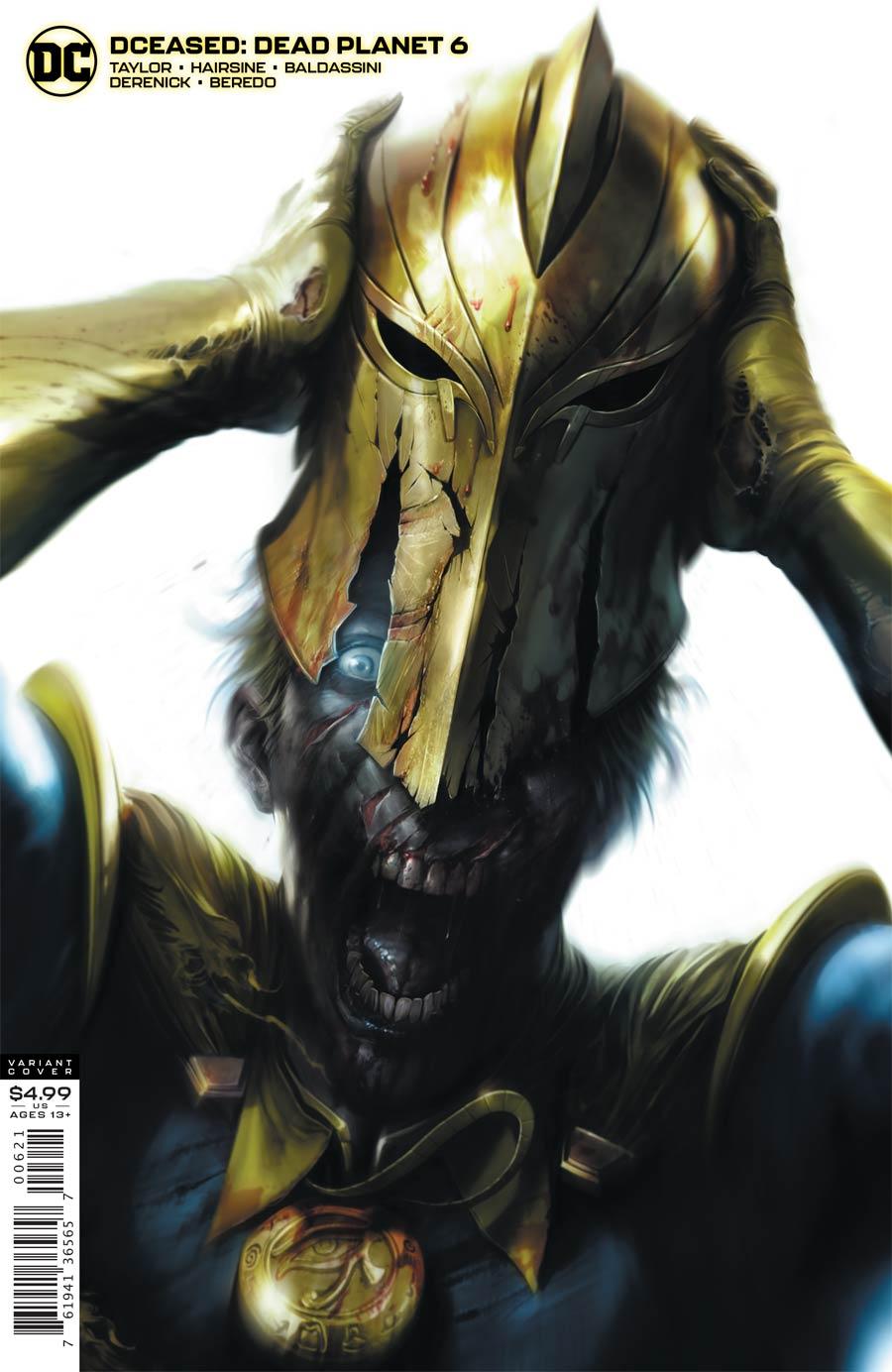 DCeased Dead Planet #6 Cover B Variant Francesco Mattina Card Stock Cover