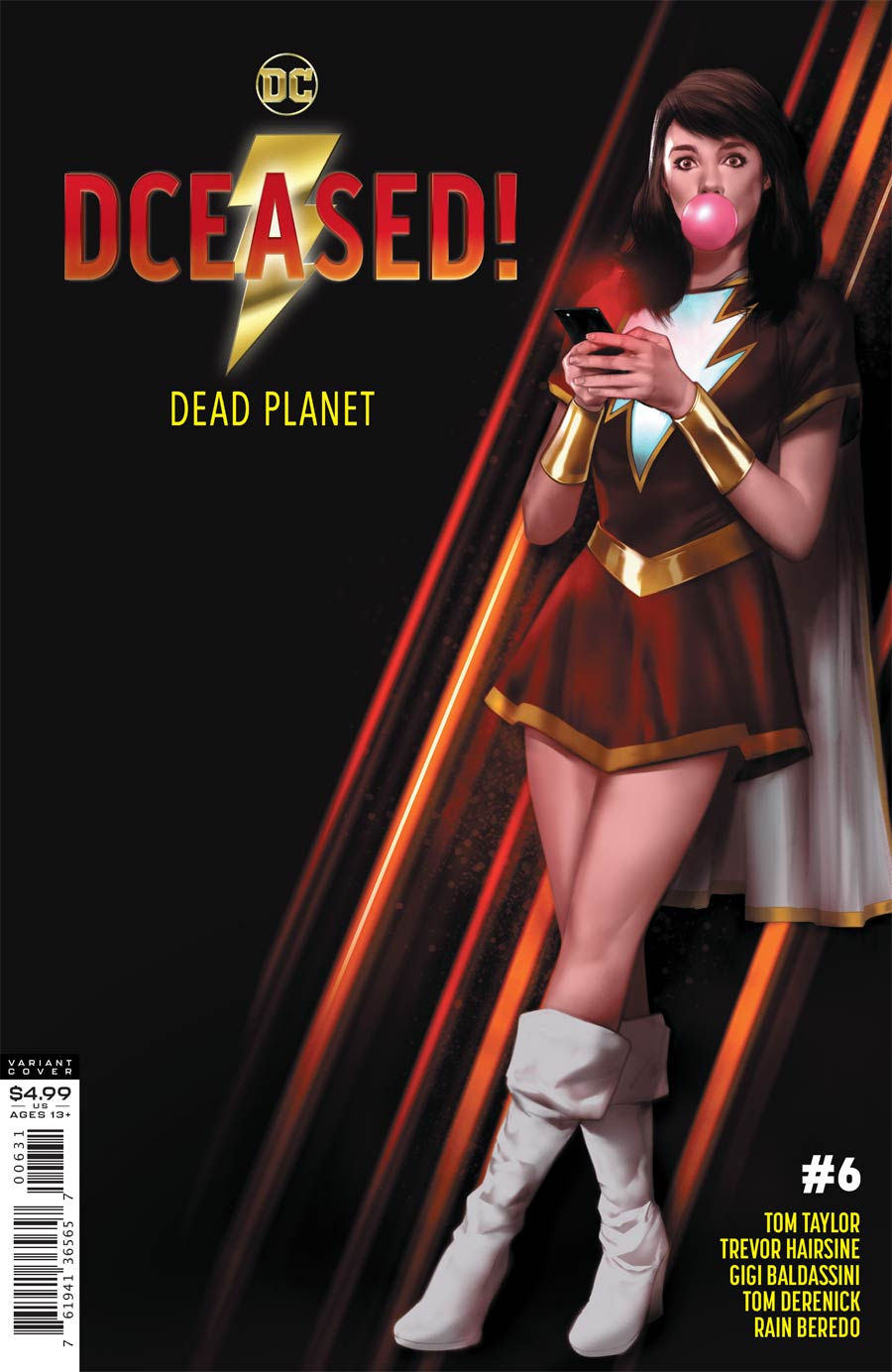 DCeased Dead Planet #6 Cover C Variant Ben Oliver Movie Homage Card Stock Cover