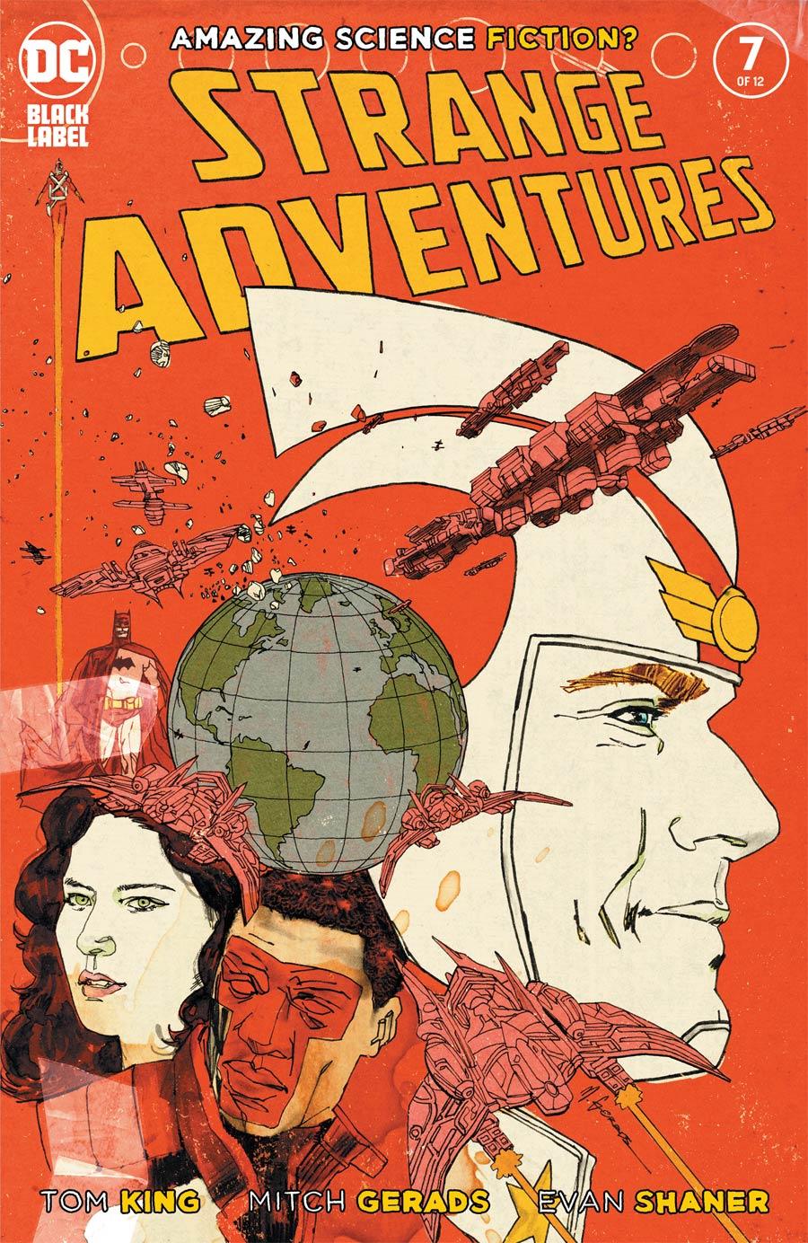 Strange Adventures Vol 4 #7 Cover A Regular Mitch Gerads Cover