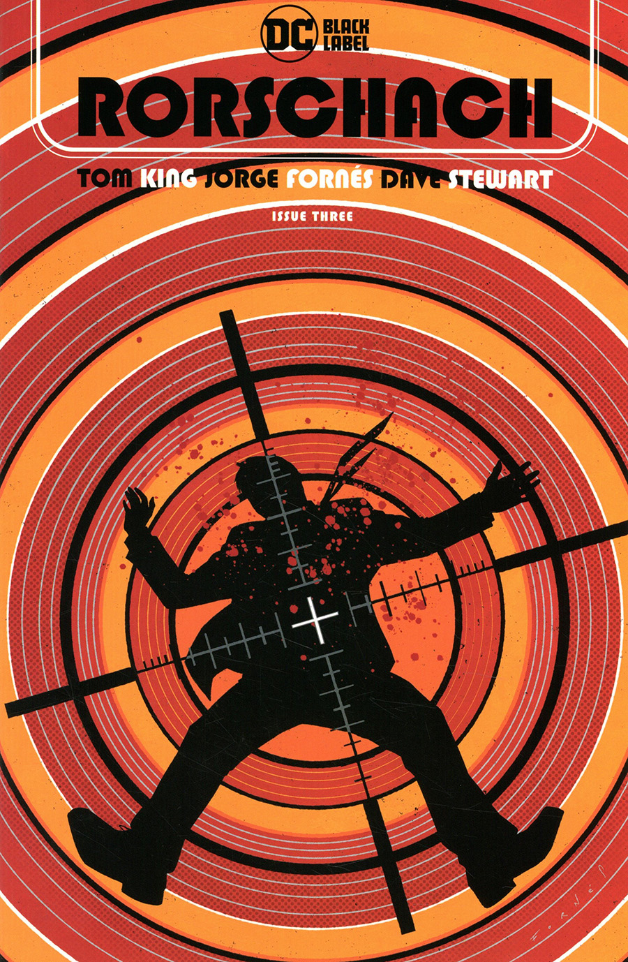 Rorschach #3 Cover A Regular Jorge Fornes Cover