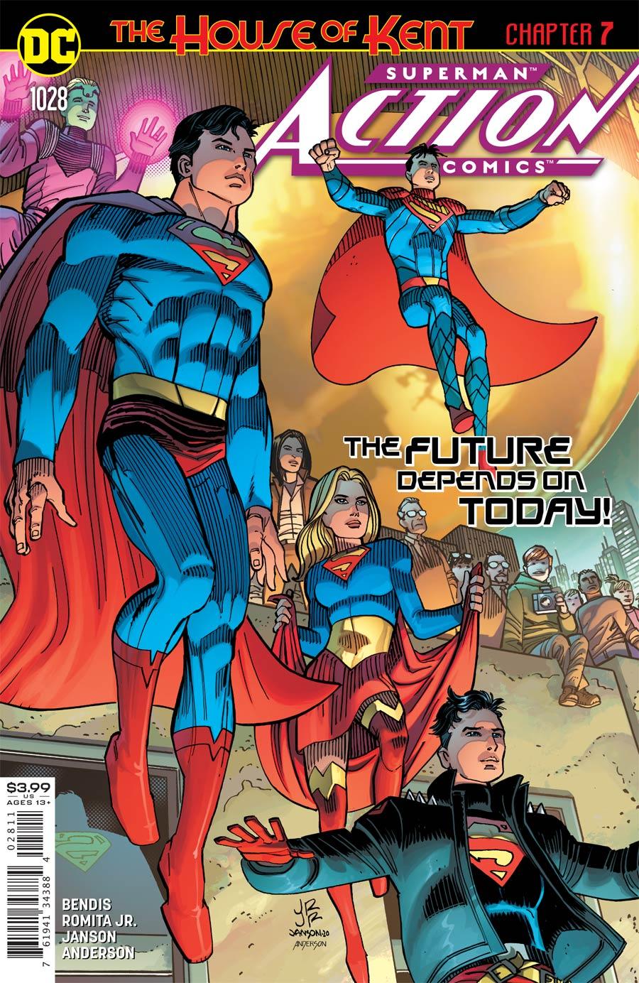 Action Comics Vol 2 #1028 Cover A Regular John Romita Jr & Klaus Janson Cover