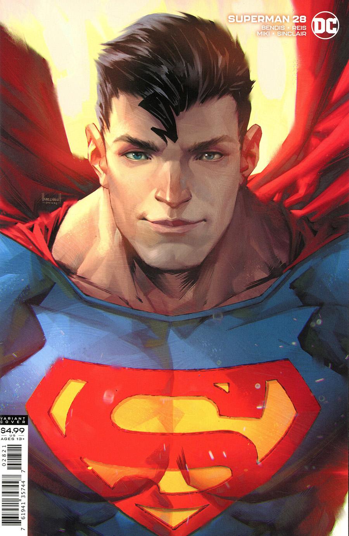 Superman Vol 6 #28 Cover B Variant Kael Ngu Card Stock Cover