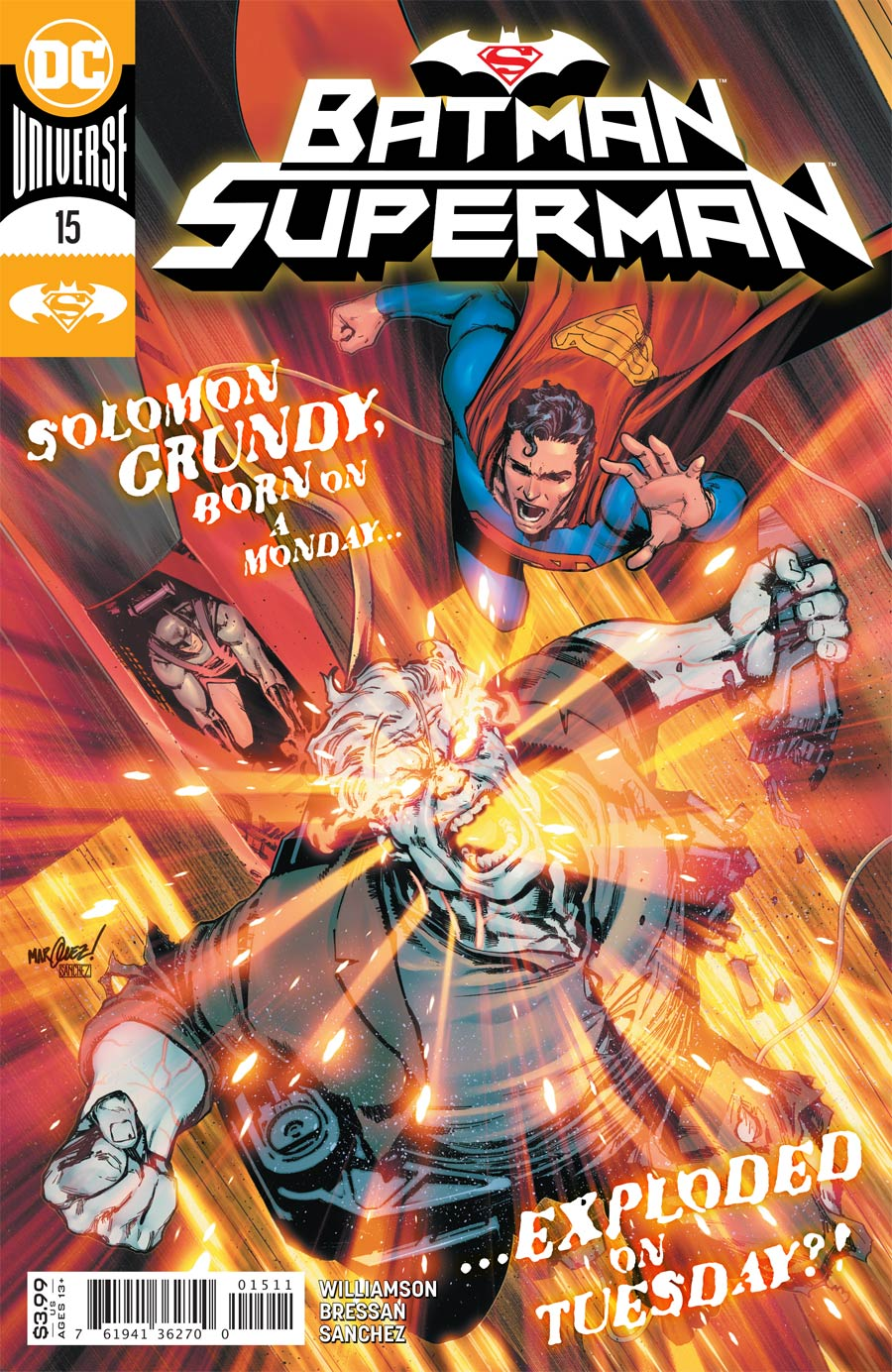 Batman Superman Vol 2 #15 Cover A Regular David Marquez Cover