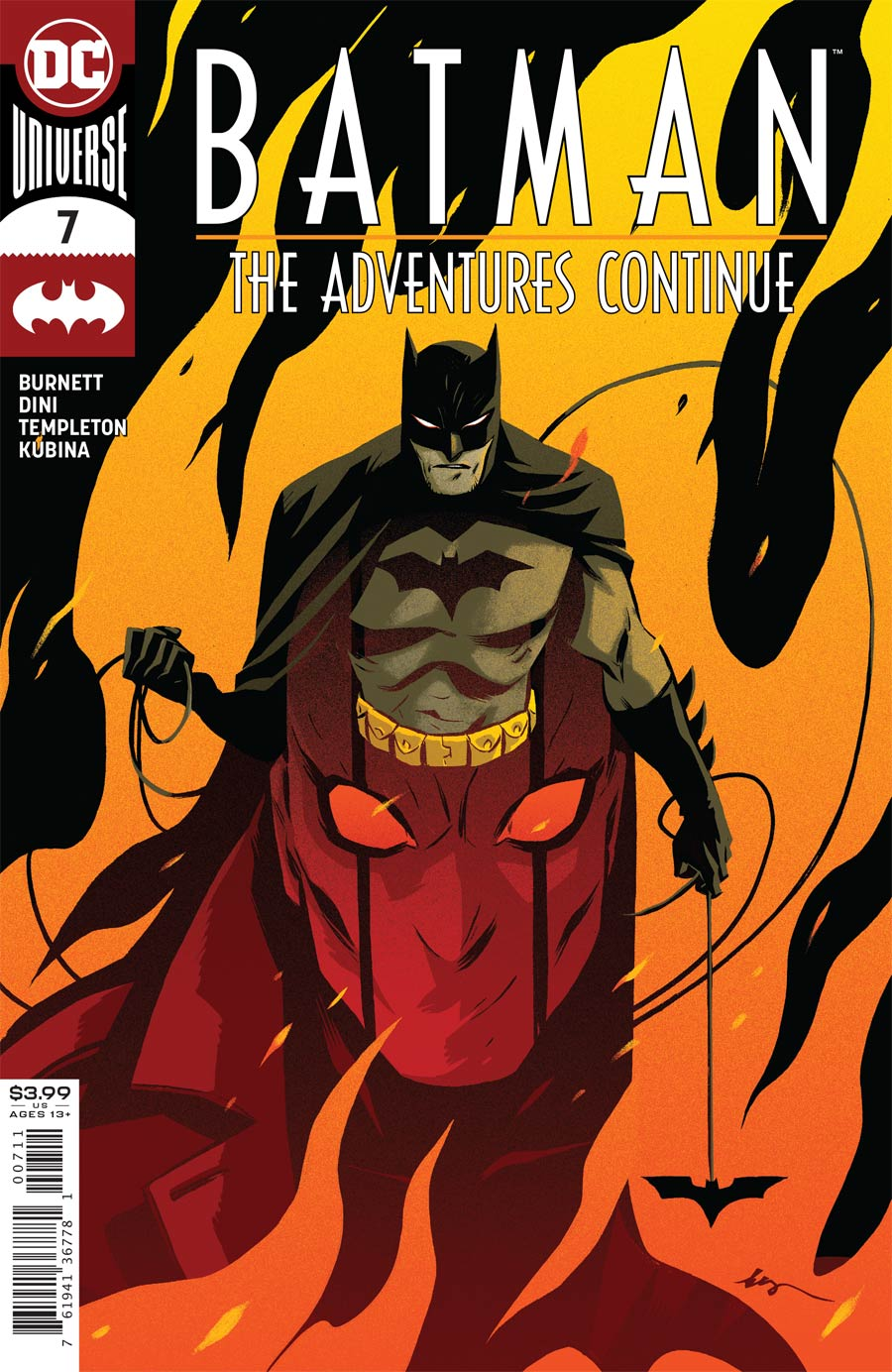 Batman The Adventures Continue #7 Cover A Regular Becky Cloonan Cover