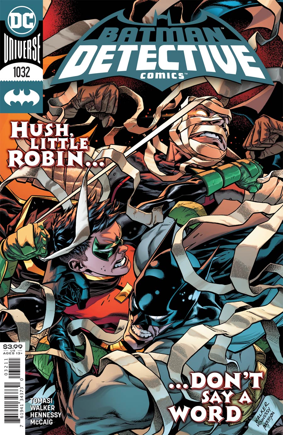 Detective Comics Vol 2 #1032 Cover A Regular Brad Walker & Andrew Hennessy Cover