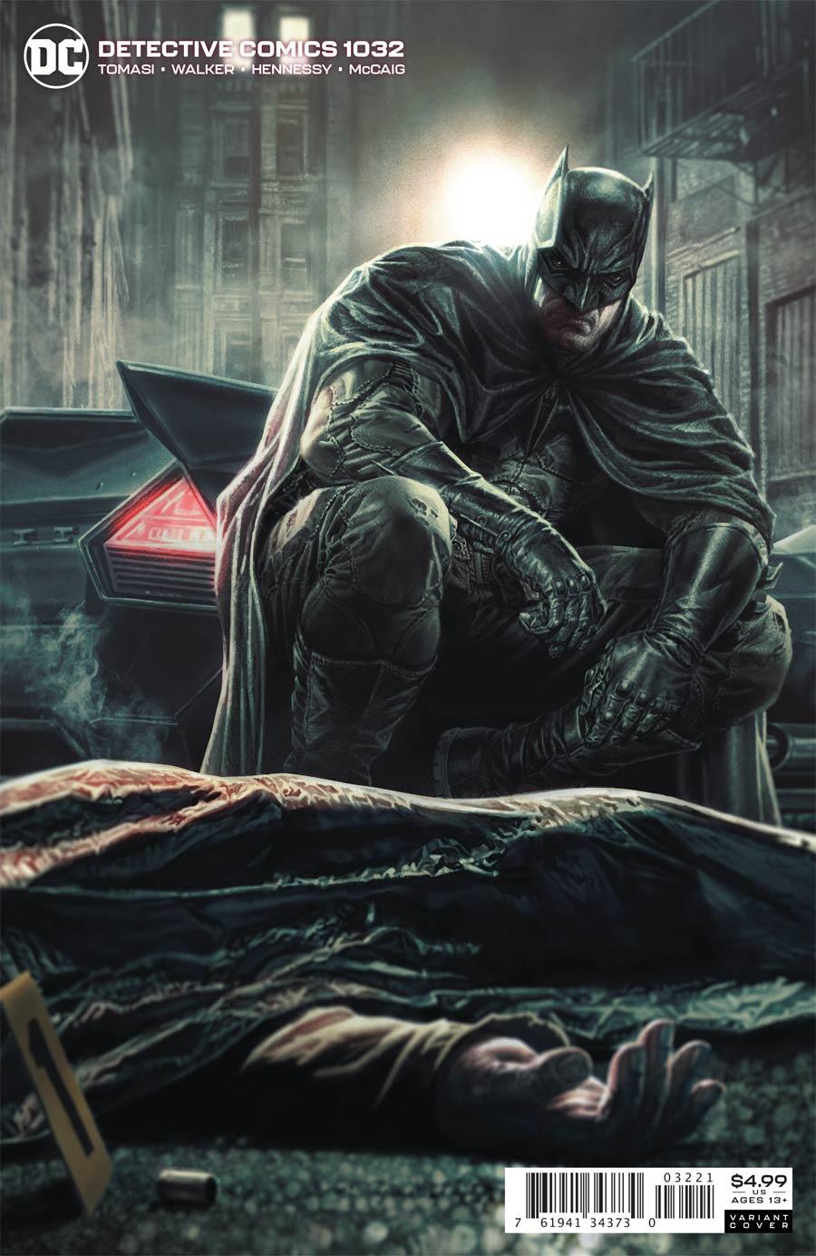 Detective Comics Vol 2 #1032 Cover B Variant Lee Bermejo Card Stock Cover